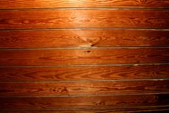 Wall. Shinny Brown Wood Wall Photo royalty free stock images