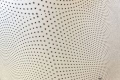 Wall with six pointed stars as abstract background