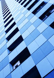 Wall of skyscraper Stock Images