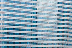 Wall of skyscraper (background). Royalty Free Stock Photography