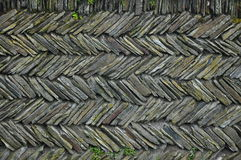 Wall from slate Stock Images
