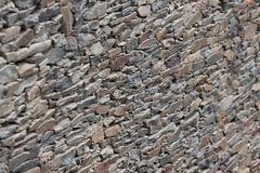 Wall of slate, very typical Stock Photography