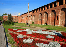 Wall in Smolensk. Stock Images