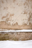 Wall and snow Royalty Free Stock Photography