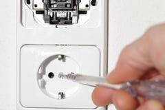 Wall socket Royalty Free Stock Image