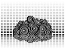 Wall of sound Royalty Free Stock Photo