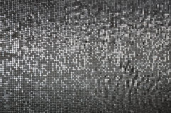 A wall of sparkling silver sequins Royalty Free Stock Image