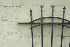 Wall and spears Royalty Free Stock Photo