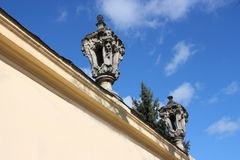 Wall St. George's Cathedral in Lviv Royalty Free Stock Photography