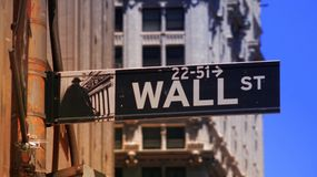 Wall St And Stock Exchange Royalty Free Stock Photography