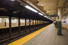 Wall St. Train Station In New York, USA Royalty Free Stock Photography