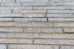 Wall stairs texture from gray to speckled granite.  Royalty Free Stock Photos