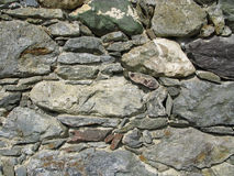 Wall of stone Stock Photos