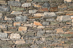 Wall of stone Royalty Free Stock Photo