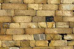 Wall stone. Wall of the old stone Royalty Free Stock Image