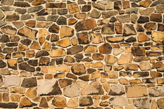 Wall from stone Royalty Free Stock Photo