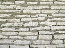 Wall from a stone Stock Photo
