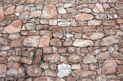 Wall from a stone Royalty Free Stock Photo