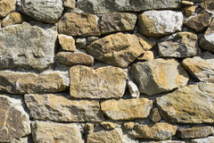 Wall of stone Royalty Free Stock Photos
