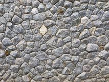 Wall of stone as the background. Texture Royalty Free Stock Photo