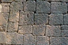 Wall of stone block Royalty Free Stock Image
