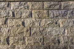 Wall of stone blocks Stock Images