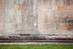 Wall of stone blocks Royalty Free Stock Images