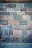 Wall of stone blocks Royalty Free Stock Photos