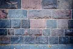 Wall of stone blocks Stock Image