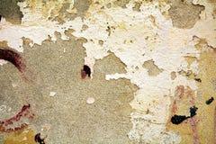 Wall, brick, graffiti, cracks on on walls Stock Images