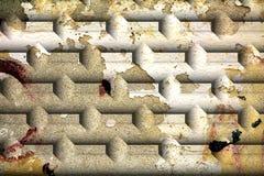 Wall, brick, graffiti, cracks on on walls, graphics Stock Image