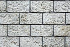 Wall stone bricks. A wall made with stone bricks Stock Photography