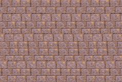 Wall stone brown sand color base light background web design urban style Royalty Free Stock Photography