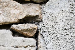 Wall of stone Stock Photography