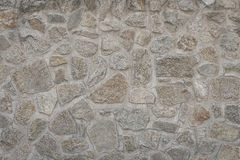Wall of stone. Masonry walls made of stone Royalty Free Stock Image