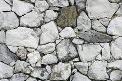 Wall Stone. One Wall of Big stone Royalty Free Stock Photo