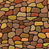 Wall stone seamless pattern. Funny wall stones seamless pattern vector illustration