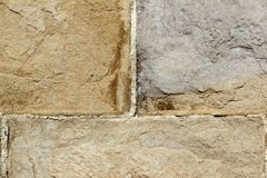 Wall stone texture background masonry Stock Image