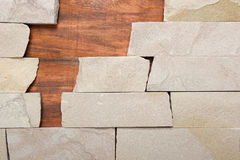 Wall stone texture background masonry Stock Image