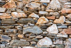 Wall stone textured surface Stock Images