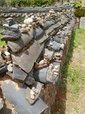 Wall, Stone Wall, Rock, Walkway stock photo