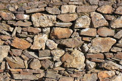Wall of stones Stock Images