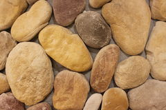 Wall with stones Royalty Free Stock Photos