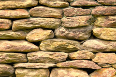 Wall of  stones abstract Stock Photo