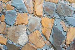 Wall stones as background Royalty Free Stock Photos