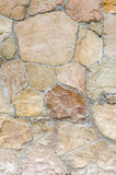 Wall of stones as a texture and background Royalty Free Stock Images