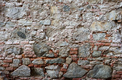 Wall of stones as a texture Stock Image