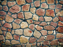 Wall of stones as a texture. Vintage background. Royalty Free Stock Photos