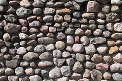 Wall of stones Royalty Free Stock Image