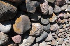 Wall of stones Stock Photo